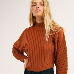 "FREE PEOPLE ""Mad Chill Turtleneck"" NWT"
